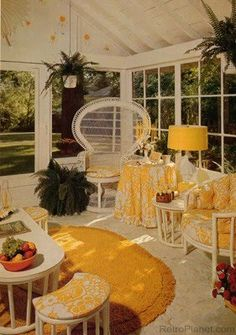 The Nature of Inspiration; 70'a Excess: By Ra Ra Superstar #70s porch