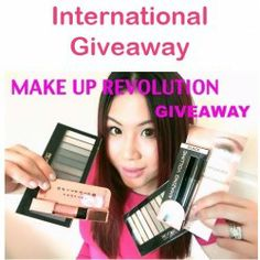 Win a small package of Make Up Revolution products ^_^ http://www.pintalabios.info/en/fashion_giveaways/view/en/2063 #International #MakeUp #bbloggers #Giveaway