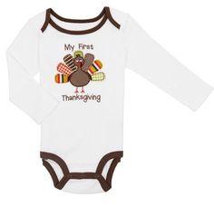 3311c73ac9fe Koala Kids 100% Cotton One-Pieces (Newborn - 5T) for Boys | eBay. My First  Thanksgiving OutfitKoala ...
