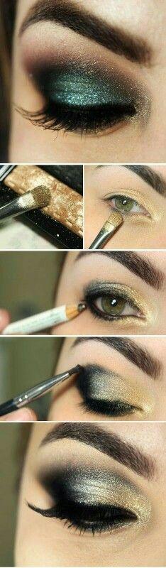 Mooie kerst make-up