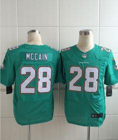 Miami Dolphins 28 Mccain Green Men Nike Elite Jerseys Nfl Miami Dolphins d6bb3e7ed
