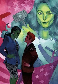 She-Hulk Issue #10 by kevinwada on deviantART