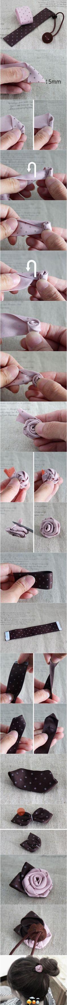 rose hairpin