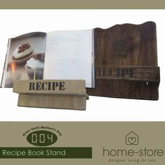 With only four days left until Mother's Day, visit Home-Store for the perfect gift for your mom such as these beautiful recipe book stands. A for any kitchen.