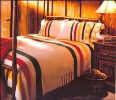 Cozy.. Love Hudson Bay Blankets!