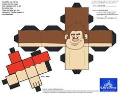 Dis28: Wreck-It Ralph Cubee by TheFlyingDachshund