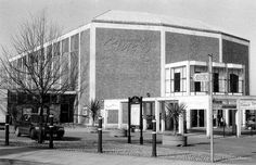 Civic Hall (now demolished), Guildford where i saw Genesis, Quo, 10cc, Bowie, Wishbone Ash, and more