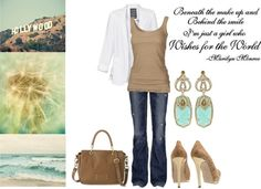 Wish - California Chic Outfit, created by diamonddoll on Polyvore