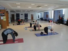 Fit Fusion's Yoga Class at the Holland Family Building!