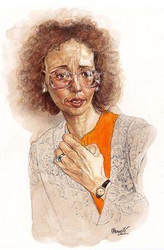 Portraits for the Republic | Riccardo Mannelli Portrait Watercolour, The Republic, Art, Art Background, Kunst, Performing Arts, Art Education Resources, Artworks