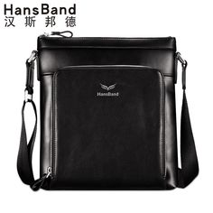 Home Frank Goog.yu Mens Business Bag Brand Genuine Leather Men Messenger Crossbody Shoulder Bags Leisure Vertical Section Handbags