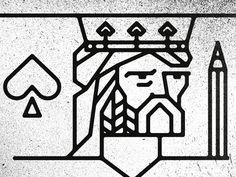 King Spade by Joshua Gille