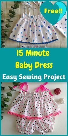 Toddler Sewing Patterns, Free Baby Patterns, Baby Girl Dress Patterns, Baby Clothes Patterns, Dress Sewing Patterns, Sewing For Kids, Dress Sewing Tutorials, Skirt Patterns, Coat Patterns