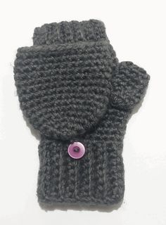 1000+ images about Crochet - Wristlets, mittens, gloves on ...