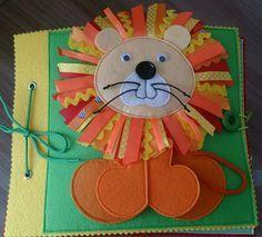развивающая книжка для маленького Льва:) - Babyblog.ru