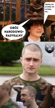 Memy z Harrego Potter'a ; w Losowo- # Losowo # amreading # books # wattpad Series Movies, Film Movie, Best Memes, Funny Memes, Polish Memes, Harry Potter Jokes, Daniel Radcliffe, Star Vs The Forces Of Evil, Edgy Memes
