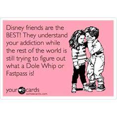 Who needs a Disney friends? I have a Disney Family! Disney College, Disney Nerd, Disney Fanatic, Disney Addict, Disney Girls, Disney Love, Walt Disney World, Disney Stuff, Disney Disney