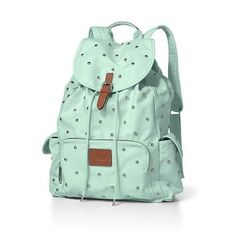 Need a stylish backpack for my USA - this is cute, love the colour