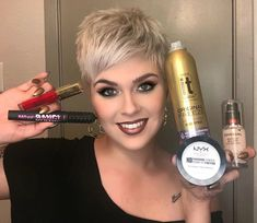 NEW VIDEO Link in bio!! I have finally managed to post another video, and this time I am going over some of my favorite products and current product obsessions!! ♥️ (There will be swatching ) Do you use these as well? #fashion #style #makeup #beauty #fashionblogger #styleblogger #mua #face #pretty #stylish #trendy #covergirlmade #milani #benefitcosmetics #nyx #pixie #stylist #motd