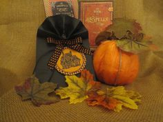 Stationery  Halloween  Handmade Gift Tags  by PaperVelvetWood, $10.00
