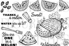 Wild For Watermelon stamp.  I want this, but the shipping is just as much as the stamp!  :(   (Dec4/12)