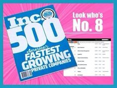 Meet the 5000 Ink. America's Fastest Growing Private Companies Plexus Worldwide is #8! Blessed to be part of this growing company! Do you have any idea how big this is, just look at this list  http://www.inc.com/inc5000/list/2014 http://shopmyplexus.com/dianevigil