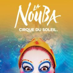 La Nouba is the story of all stories, the site of all mysteries, where dreams and nightmares sleep side by side.
