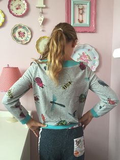 Ak at home    : sewing * aster trui