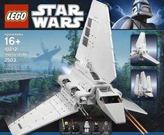 Lego Star Wars Imperial Shuttle 10212 For Star Wars fans . this Lego set is a winner! Star Wars Clones, Lego Star Wars Clone, Legos, Imperial Officer, Star Wars Vehicles, Lego War, Buy Lego, Star Wars Minifigures, Custom Lego