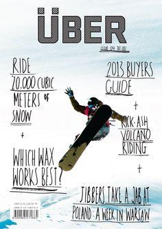 Uber Magazine  Masthead/Branding/Cover Design  (student brief)