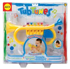 Bath tub fun for kids dr. Toy Trumpet, Toddler Toys, Kids Toys, Bath Tub Fun, Music For Toddlers, Toddler Music, Rainbow Resource, Alex Toys, Trumpet