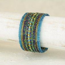 Atmosphere Beads XV Wire Cuff - City Buddha - $4.95