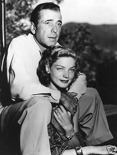 Bogey & Bacall ~ when they married, Humphrey Bogart was 45 and Lauren Bacall was barely Hollywood Couples, Hollywood Icons, Golden Age Of Hollywood, Hollywood Stars, Classic Hollywood, Old Hollywood, Hollywood Glamour, Old Movie Stars, Classic Movie Stars