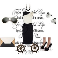 """""""mother dress"""" by lindayang1122 on Polyvore"""