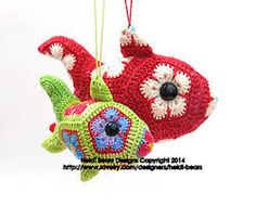 Ravelry: The Babelfeesh African Flower Crochet Pattern pattern by Heidi Bears Grannies Crochet, Crochet Motif, Crochet Stitches, Knit Crochet, Crochet Patterns, Hexagon Crochet, Crochet African Flowers, Crochet Flowers, Animal Fibres