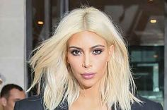 "Kim Kardashian On Platinum Blond Hair In 2011: ""It Wouldn't Work On Me"""