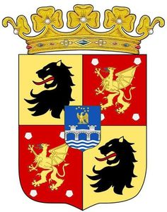 Arms of Prince Carl Bernadotte with coronet. Empire Style, Cartography, Coat Of Arms, Sweden, Prince, Norway, Denmark, Historia