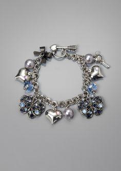 Cute Butterfly Charm Bracelet I always wished I had a charm bracelet