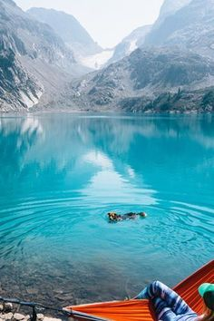 WASHINGTON: JADE LAKE An easy hike from the Pacific Crest Trail will bring you to Jade Lake, known for blue-green water so surreal, not even an Instagram filter could reproduce it.