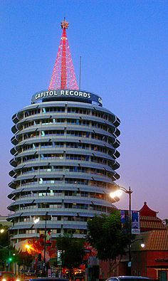 The Capitol Records Building by Jeremiah Christopher