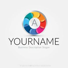 Colour Wheel logo design for sale online Ready made colorful logo design suitable for branding a Initial Logo, Printing company Logo, Alphabet Logo etc. Make a logo design with our free logo maker Use our online logo maker to create your own logo, change your business name, colors, fonts, text & more. Need some extra premium colors & fonts? Our logo designers will redesign your company logo upon