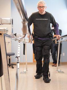 Paralysis Patients Walk Again with Non-Robotic 'Kickstart' Exoskeleton