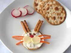 Easter Bunny healthy food craft