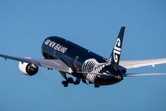 The newest addition to Air New Zealand's fleet was welcomed at Auckland Airport this afternoon. Passenger Aircraft, Private Plane, Air New Zealand, British Airways, Travel Information, Auckland, Homeland, Landing, Airplane