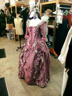 period corsets made the under corset for this amazing