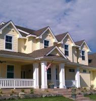 woodards exterior Custom Home Builders, Custom Homes, Closet Built Ins, Solitude, Farmhouse, Exterior, Decorating, Mansions, House Styles