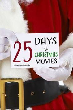 I love everything Christmas so here is my 25 must see days of Christmas movies.