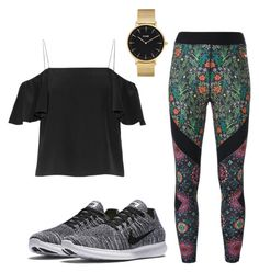 Loose by celeste-05 on Polyvore featuring polyvore, fashion, style, Fendi, NIKE, CLUSE and clothing