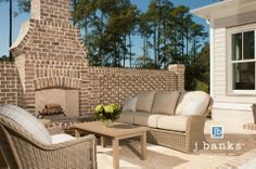 #newtraditional #outdoor #seating #design #palmettobluff #palmettobluffideahomes @Whenwillyou Key Bluff SC