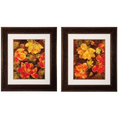 Paradise I / II 2 Piece Framed Graphic Art Set